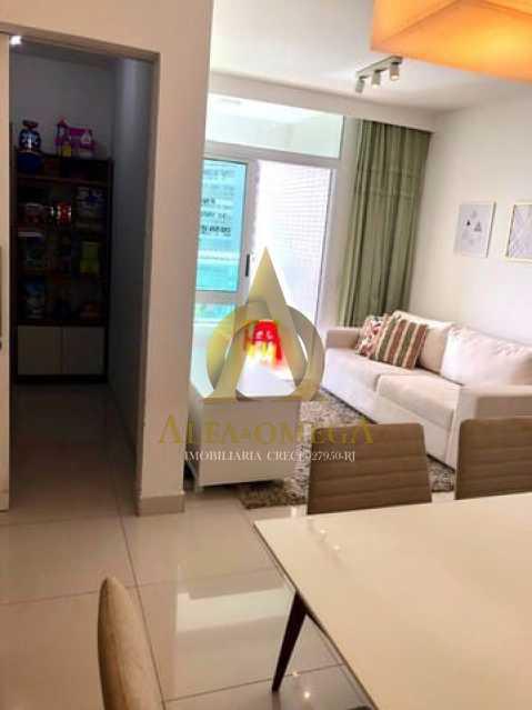 5. - Apartamento 2 quartos à venda Barra da Tijuca, Rio de Janeiro - R$ 1.370.000 - AO20512 - 5