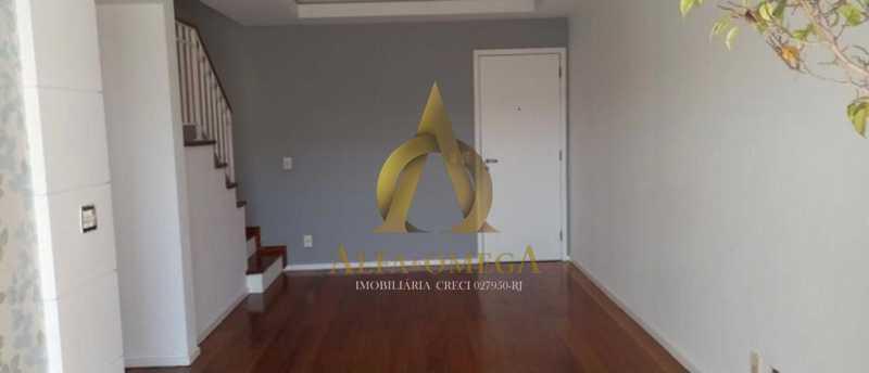 2 - Cobertura 3 quartos à venda Barra da Tijuca, Rio de Janeiro - R$ 1.650.000 - AOMH50135 - 3