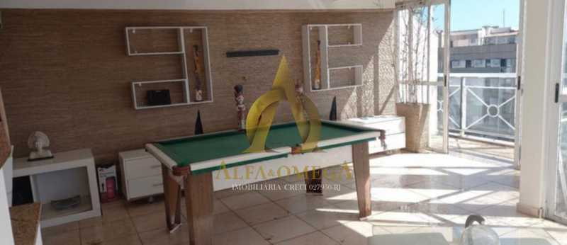 3 - Cobertura 3 quartos à venda Barra da Tijuca, Rio de Janeiro - R$ 1.650.000 - AOMH50135 - 14