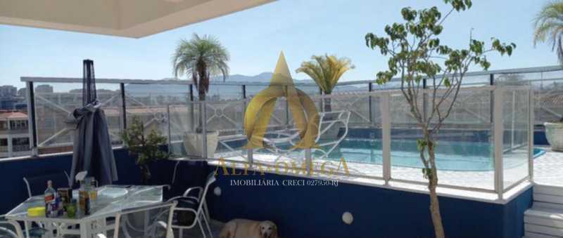 7 - Cobertura 3 quartos à venda Barra da Tijuca, Rio de Janeiro - R$ 1.650.000 - AOMH50135 - 26