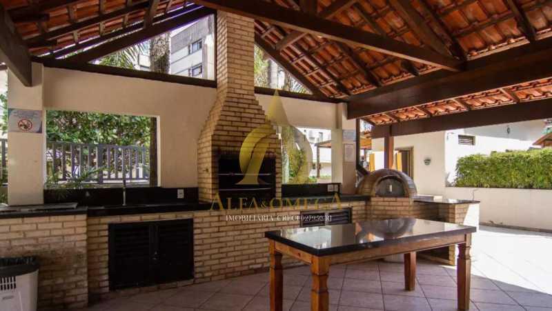 25 - Cobertura 3 quartos à venda Barra da Tijuca, Rio de Janeiro - R$ 1.650.000 - AOMH50135 - 20