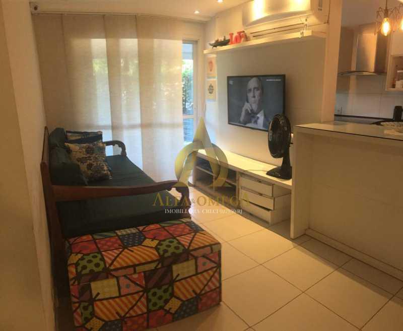 8 - Apartamento 2 quartos à venda Recreio dos Bandeirantes, Rio de Janeiro - R$ 649.000 - AO20516 - 1