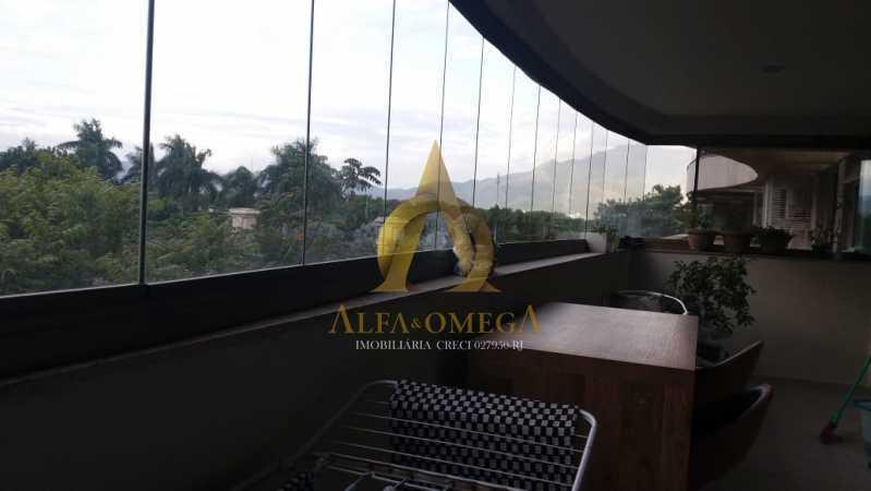 1 - Apartamento à venda Avenida Vice Presidente José de Alencar,Jacarepaguá, Rio de Janeiro - R$ 1.185.000 - AOFB40086 - 15