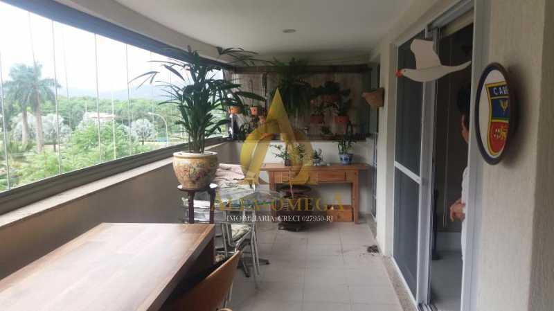 14 - Apartamento à venda Avenida Vice Presidente José de Alencar,Jacarepaguá, Rio de Janeiro - R$ 1.185.000 - AOFB40086 - 14