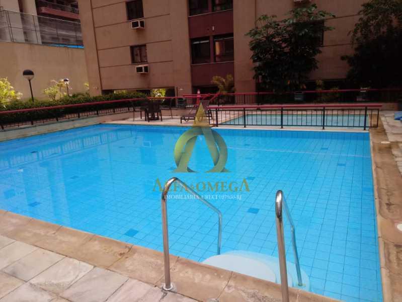 25 - Apartamento 2 quartos para venda e aluguel Barra da Tijuca, Rio de Janeiro - R$ 1.050.000 - AOFB20523 - 26
