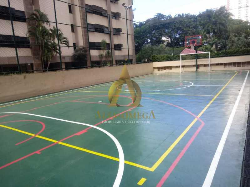27 - Apartamento 2 quartos para venda e aluguel Barra da Tijuca, Rio de Janeiro - R$ 1.050.000 - AOFB20523 - 27