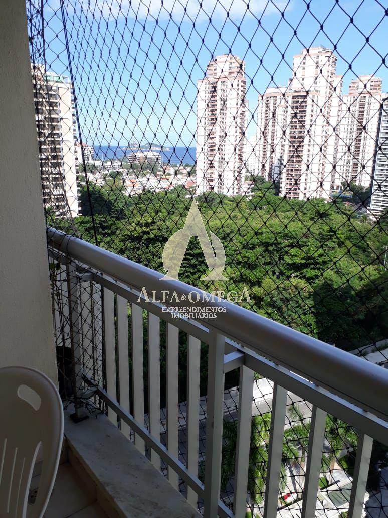 FOTO 1 - Apartamento Rua Mário Covas Júnior,Barra da Tijuca,Rio de Janeiro,RJ À Venda,2 Quartos,74m² - AO20357 - 1