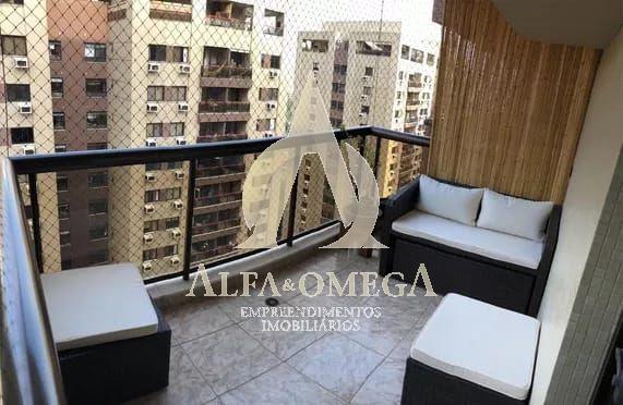 FOTO 1 - Apartamento Barra da Tijuca, Rio de Janeiro, RJ À Venda, 2 Quartos, 80m² - AO20387 - 1