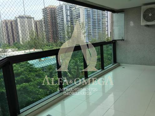 FOTO 3 - Apartamento Barra da Tijuca, Rio de Janeiro, RJ À Venda, 3 Quartos, 130m² - AO30127 - 3