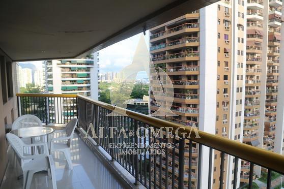 FOTO 1 - Apartamento 3 quartos à venda Barra da Tijuca, Rio de Janeiro - R$ 1.190.000 - AO30142 - 1