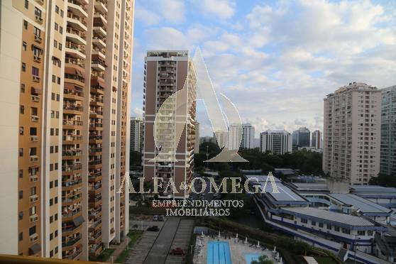 FOTO 3 - Apartamento 3 quartos à venda Barra da Tijuca, Rio de Janeiro - R$ 1.190.000 - AO30142 - 4