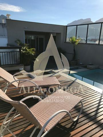 FOTO 8 - Apartamento Barra da Tijuca,Rio de Janeiro,RJ Para Alugar,4 Quartos,340m² - AO50010L - 8