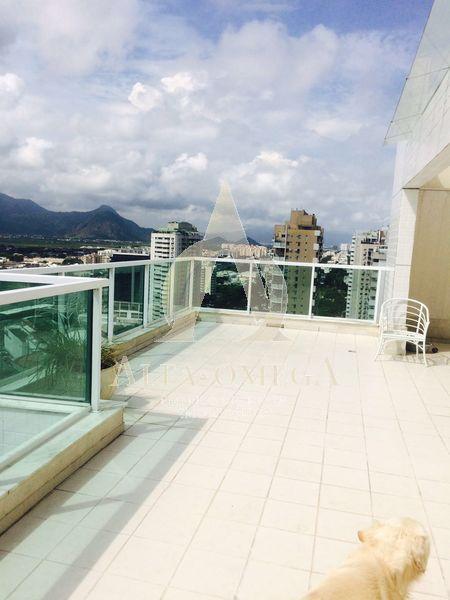 FOTO 20 - Cobertura à venda Rua Henfil,Recreio dos Bandeirantes, Rio de Janeiro - R$ 1.500.000 - AOMH50021 - 21