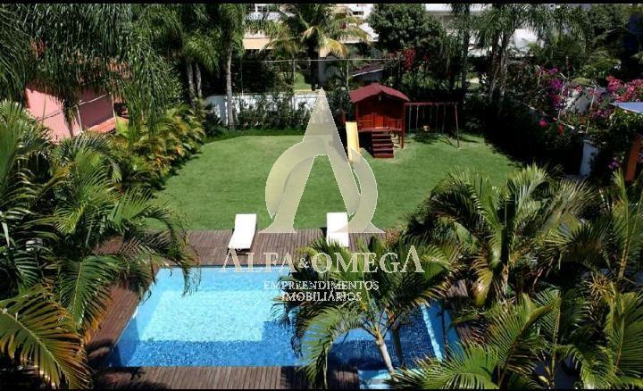 FOTO 4 - Casa em Condomínio Barra da Tijuca, Rio de Janeiro, RJ À Venda, 5 Quartos, 600m² - AO60121 - 4