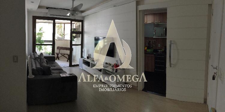 FOTO 1 - Apartamento Jacarepaguá, Rio de Janeiro, RJ À Venda, 2 Quartos, 70m² - AOJ20046 - 1
