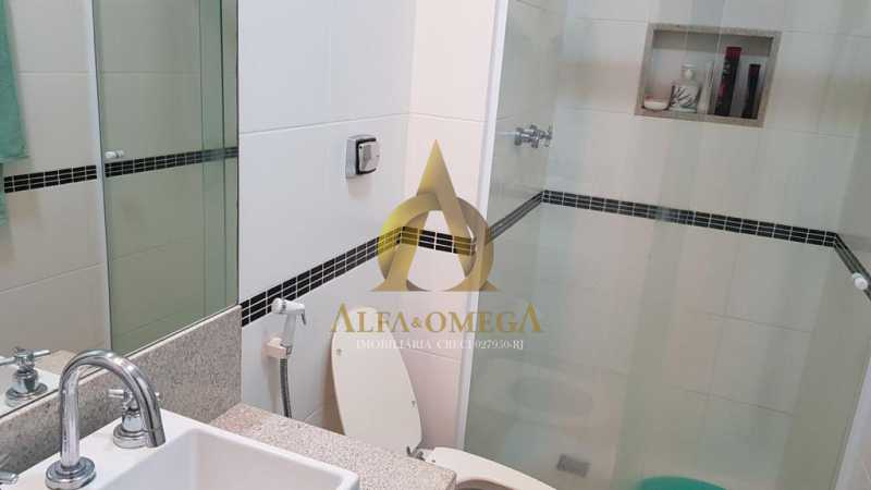 2 - Apartamento Avenida Genaro de Carvalho,Recreio dos Bandeirantes, Rio de Janeiro, RJ À Venda, 2 Quartos, 102m² - AOJ20079 - 13
