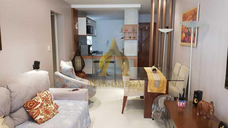 4 - Apartamento Avenida Genaro de Carvalho,Recreio dos Bandeirantes, Rio de Janeiro, RJ À Venda, 2 Quartos, 102m² - AOJ20079 - 7