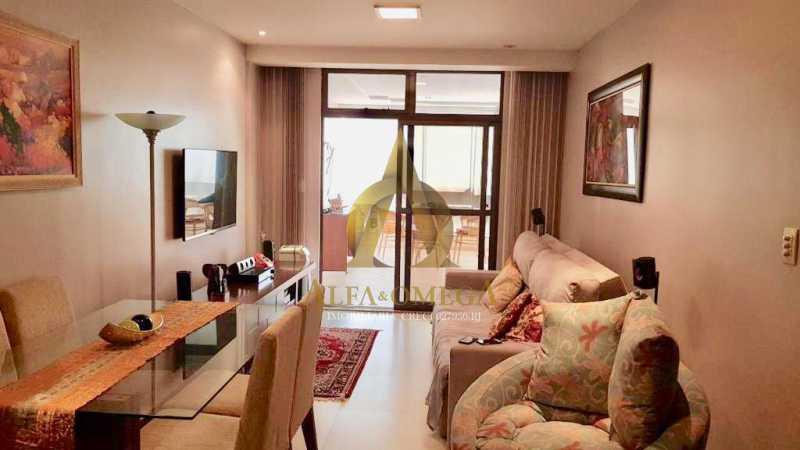 5 - Apartamento Avenida Genaro de Carvalho,Recreio dos Bandeirantes, Rio de Janeiro, RJ À Venda, 2 Quartos, 102m² - AOJ20079 - 1