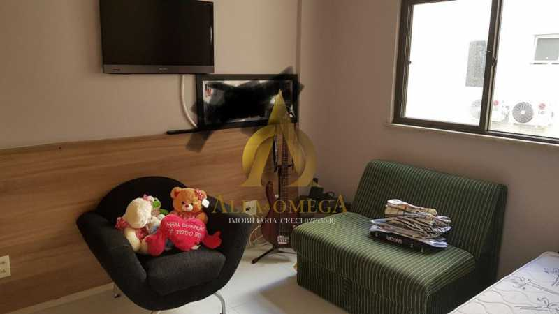 13 - Apartamento Avenida Genaro de Carvalho,Recreio dos Bandeirantes, Rio de Janeiro, RJ À Venda, 2 Quartos, 102m² - AOJ20079 - 11
