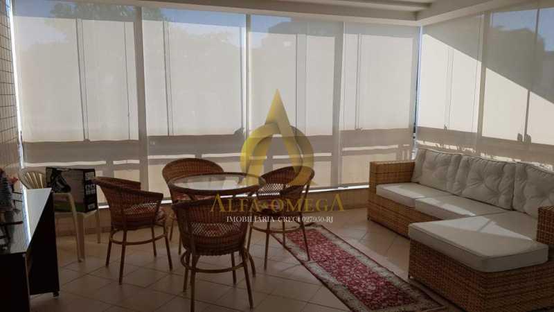20 - Apartamento Avenida Genaro de Carvalho,Recreio dos Bandeirantes, Rio de Janeiro, RJ À Venda, 2 Quartos, 102m² - AOJ20079 - 5