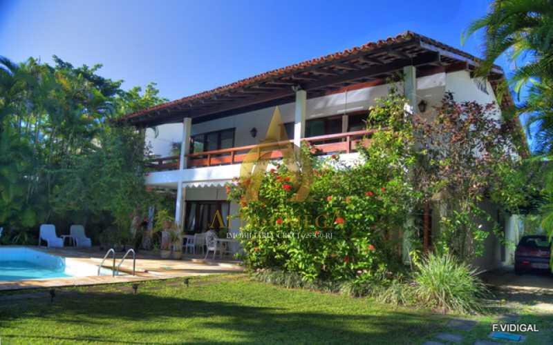 1 - Casa em Condomínio Barra da Tijuca, Rio de Janeiro, RJ À Venda, 4 Quartos, 478m² - AO60123 - 1