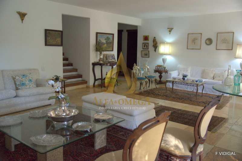 2 - Casa em Condomínio Barra da Tijuca, Rio de Janeiro, RJ À Venda, 4 Quartos, 478m² - AO60123 - 3