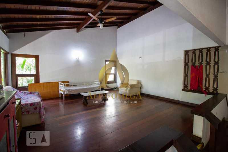 11 - Casa em Condomínio Barra da Tijuca, Rio de Janeiro, RJ À Venda, 4 Quartos, 478m² - AO60123 - 13