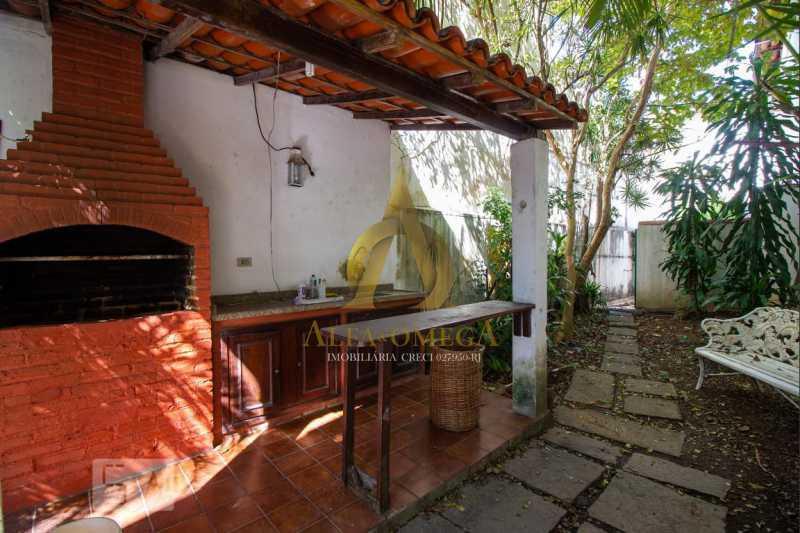 17 - Casa em Condomínio Barra da Tijuca, Rio de Janeiro, RJ À Venda, 4 Quartos, 478m² - AO60123 - 19