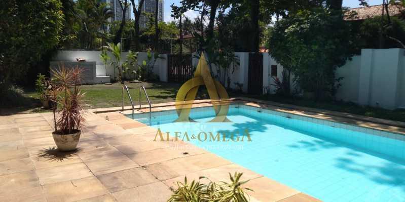 21 - Casa em Condomínio Barra da Tijuca, Rio de Janeiro, RJ À Venda, 4 Quartos, 478m² - AO60123 - 21