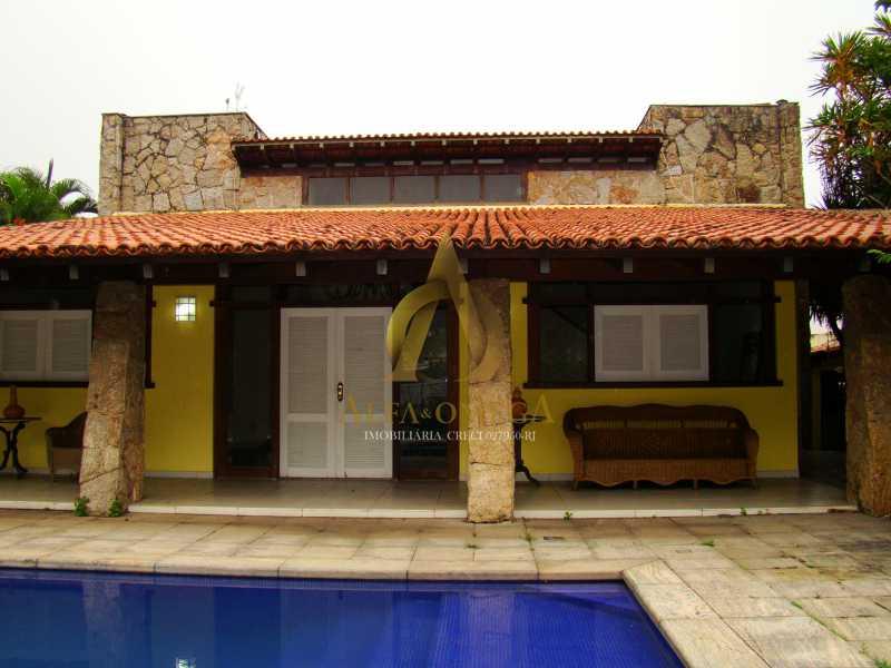 DSC05553 - Casa em Condomínio Barra da Tijuca, Rio de Janeiro, RJ À Venda, 4 Quartos, 480m² - AO60124 - 1