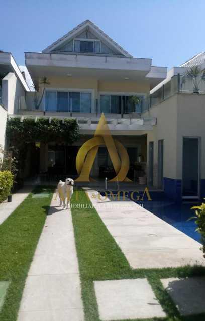 1 - Casa em Condomínio Rua Dina Sfat,Barra da Tijuca, Rio de Janeiro, RJ À Venda, 4 Quartos, 392m² - AO60125 - 1
