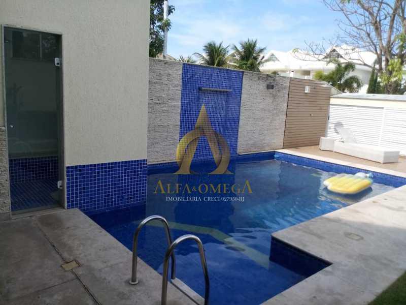 2 - Casa em Condomínio Rua Dina Sfat,Barra da Tijuca, Rio de Janeiro, RJ À Venda, 4 Quartos, 392m² - AO60125 - 3