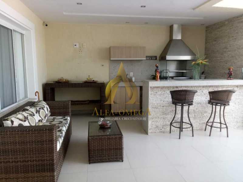 3 - Casa em Condomínio Rua Dina Sfat,Barra da Tijuca, Rio de Janeiro, RJ À Venda, 4 Quartos, 392m² - AO60125 - 24