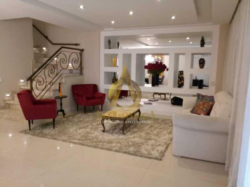 4 - Casa em Condomínio Rua Dina Sfat,Barra da Tijuca, Rio de Janeiro, RJ À Venda, 4 Quartos, 392m² - AO60125 - 4