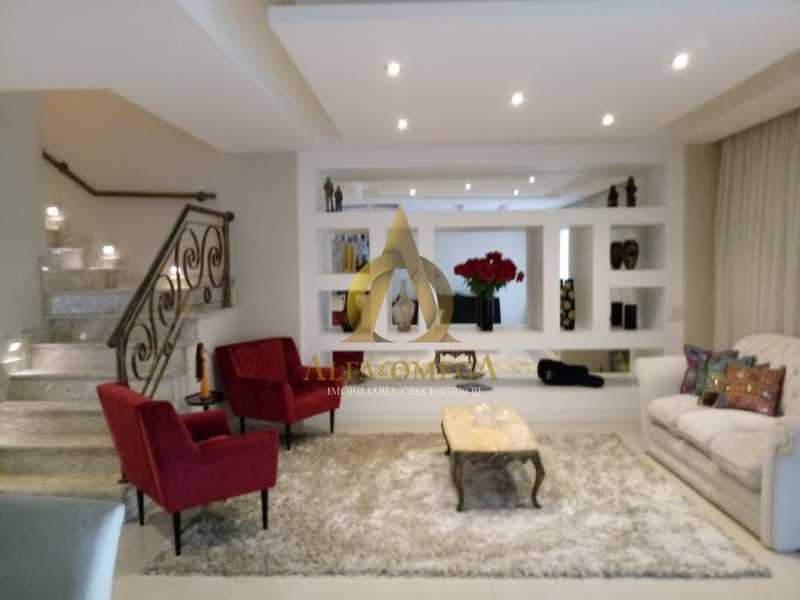 5 - Casa em Condomínio Rua Dina Sfat,Barra da Tijuca, Rio de Janeiro, RJ À Venda, 4 Quartos, 392m² - AO60125 - 5