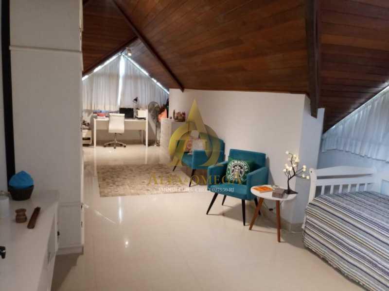 10 - Casa em Condomínio Rua Dina Sfat,Barra da Tijuca, Rio de Janeiro, RJ À Venda, 4 Quartos, 392m² - AO60125 - 19