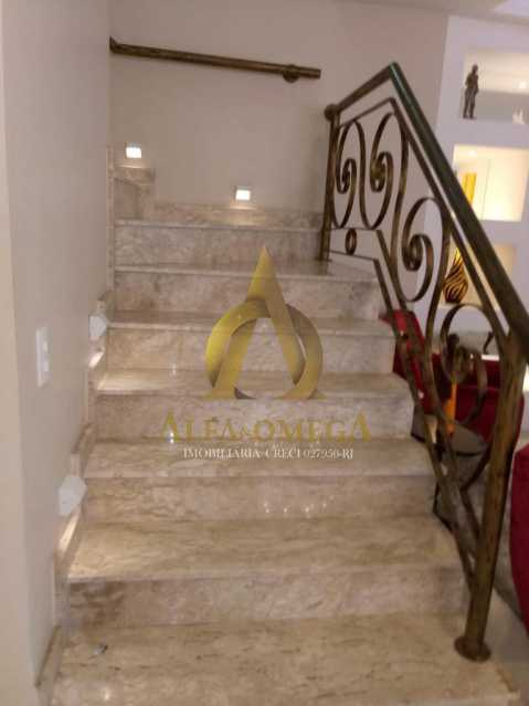 12 - Casa em Condomínio Rua Dina Sfat,Barra da Tijuca, Rio de Janeiro, RJ À Venda, 4 Quartos, 392m² - AO60125 - 7