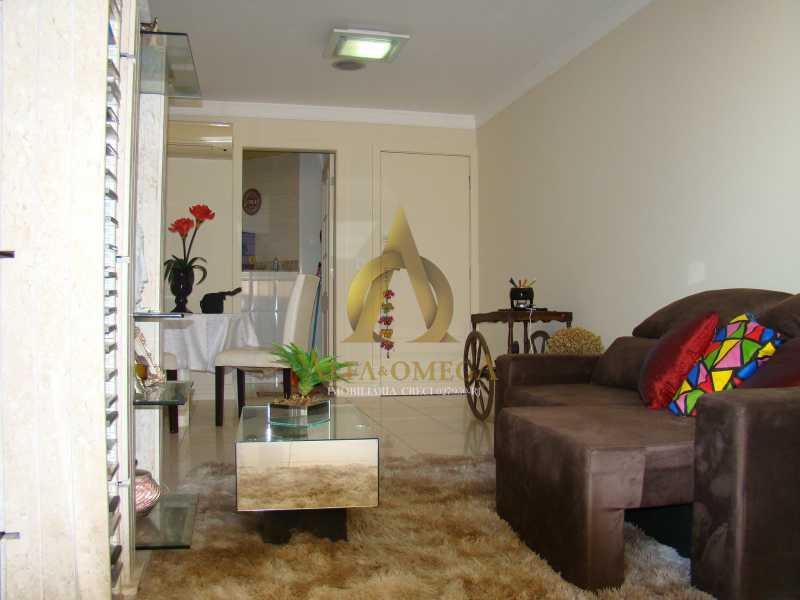 DSC05629 - Apartamento à venda Rua Rogério Karp,Recreio dos Bandeirantes, Rio de Janeiro - R$ 649.000 - AO30203 - 4