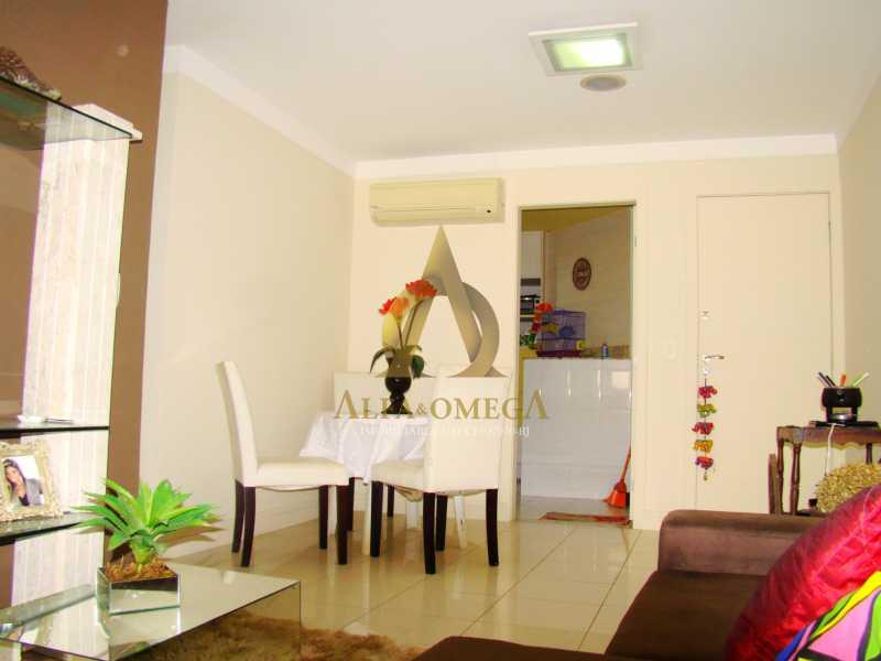 DSC05634 - Apartamento à venda Rua Rogério Karp,Recreio dos Bandeirantes, Rio de Janeiro - R$ 649.000 - AO30203 - 6