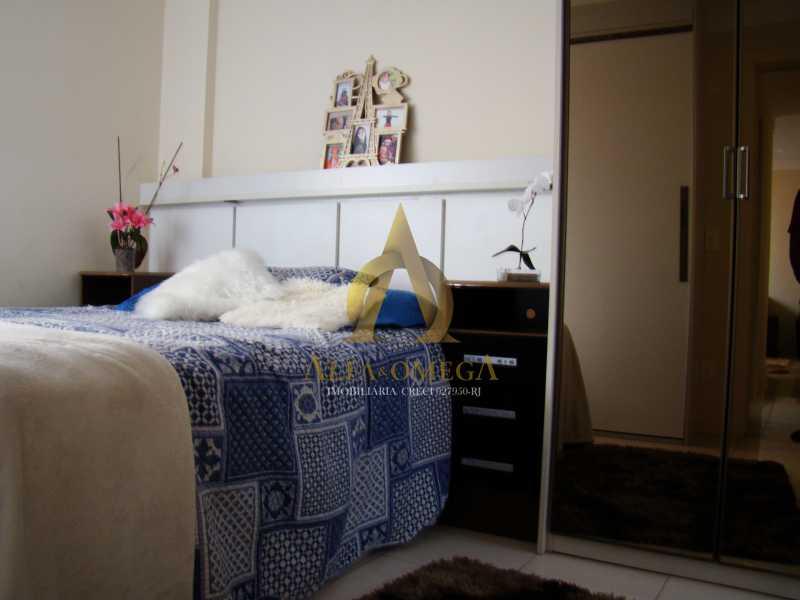 DSC05646 - Apartamento à venda Rua Rogério Karp,Recreio dos Bandeirantes, Rio de Janeiro - R$ 649.000 - AO30203 - 14
