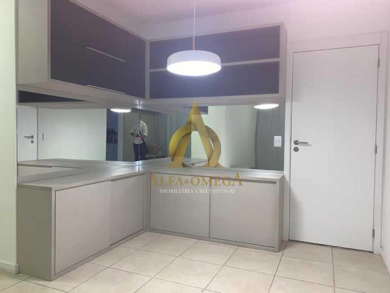 2 - Apartamento Avenida Eixo Metropolitano Este-Oeste,Jacarepaguá, Rio de Janeiro, RJ Para Alugar, 2 Quartos, 70m² - AOJ20017L - 14