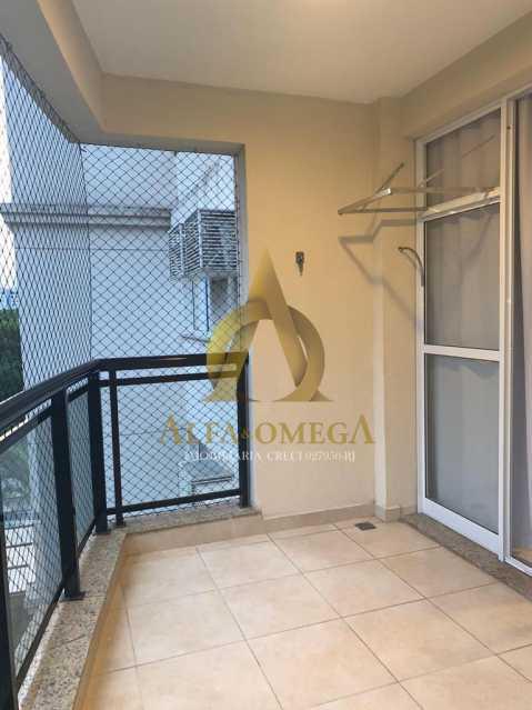 16 - Apartamento Avenida Eixo Metropolitano Este-Oeste,Jacarepaguá, Rio de Janeiro, RJ Para Alugar, 2 Quartos, 70m² - AOJ20017L - 1