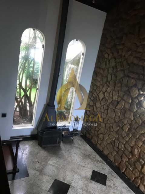 10 - Casa Estrada do Quitite,Jacarepaguá, Rio de Janeiro, RJ Para Alugar, 4 Quartos, 350m² - AOJ60010L - 7