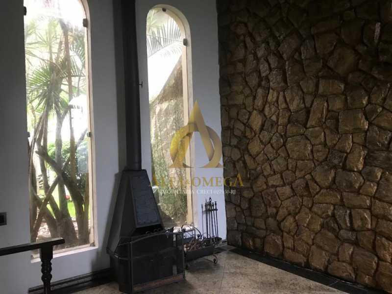 16 - Casa Estrada do Quitite,Jacarepaguá, Rio de Janeiro, RJ Para Alugar, 4 Quartos, 350m² - AOJ60010L - 8