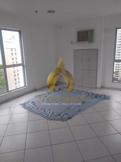 1 - Sala Comercial Avenida Evandro Lins e Silva,Barra da Tijuca, Rio de Janeiro, RJ Para Alugar, 42m² - AO80006L - 1
