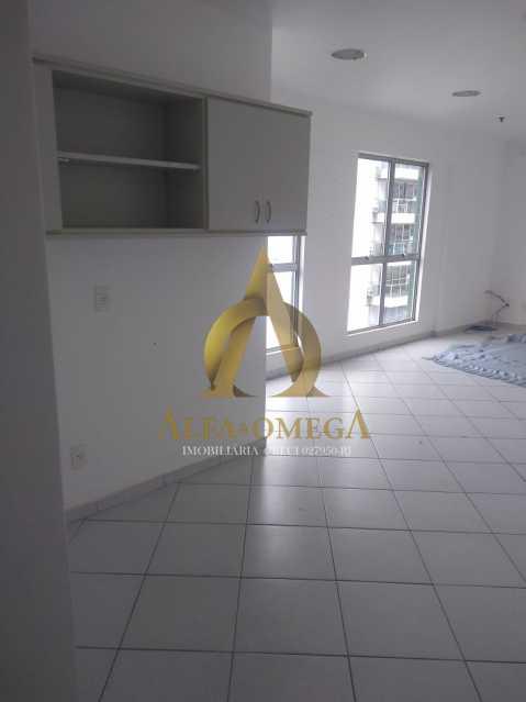2 - Sala Comercial Avenida Evandro Lins e Silva,Barra da Tijuca, Rio de Janeiro, RJ Para Alugar, 42m² - AO80006L - 4