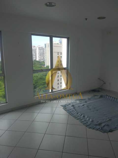 7 - Sala Comercial Avenida Evandro Lins e Silva,Barra da Tijuca, Rio de Janeiro, RJ Para Alugar, 42m² - AO80006L - 5