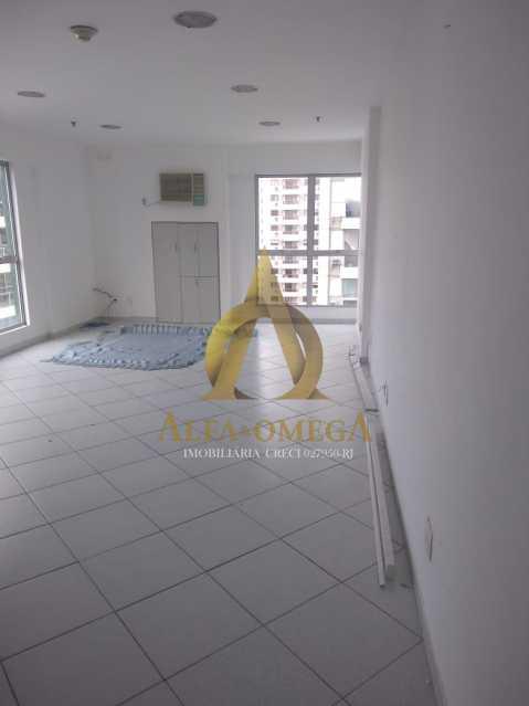 8 - Sala Comercial Avenida Evandro Lins e Silva,Barra da Tijuca, Rio de Janeiro, RJ Para Alugar, 42m² - AO80006L - 7