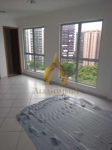 9 - Sala Comercial Avenida Evandro Lins e Silva,Barra da Tijuca, Rio de Janeiro, RJ Para Alugar, 42m² - AO80006L - 8