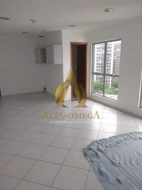 11 - Sala Comercial Avenida Evandro Lins e Silva,Barra da Tijuca, Rio de Janeiro, RJ Para Alugar, 42m² - AO80006L - 13